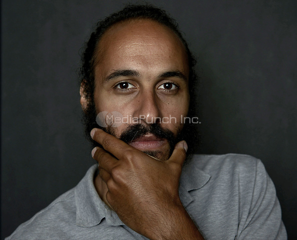 MIAMI BEACH, FL - MARCH 05: Producer Alexander Younis from the film 'Cargo' poses for a portrait in the Vallerymag.com Portrait Studio during the 2017 Miami Dade College's 34th Miami Film Festival portrait at The Standard Hotel on March 5, 2017 in Miami Beach, Florida. Credit: MPI10 / MediaPunch