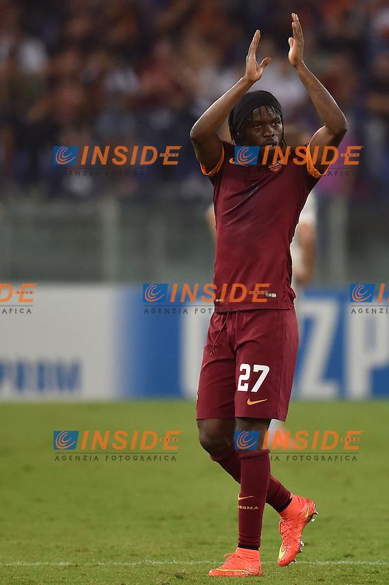 Gervinho AS Roma <br /> Roma 17-09-2014 Stadio Olimpico, Football Calcio Champions League AS Roma - CSKA. Foto Andrea Staccioli / Insidefoto