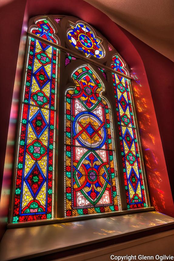 St. Andrews Presbyterian Church stain glass windows