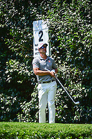 Adam Scott (AUS) watches his tee shot on 2 during round 1 of the World Golf Championships, Mexico, Club De Golf Chapultepec, Mexico City, Mexico. 3/2/2017.<br /> Picture: Golffile | Ken Murray<br /> <br /> <br /> All photo usage must carry mandatory copyright credit (&copy; Golffile | Ken Murray)