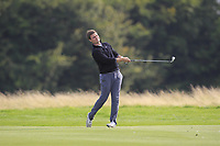 Kristian Krogh Johannessen (NOR) on the 2nd fairway during Round 1 of the Bridgestone Challenge 2017 at the Luton Hoo Hotel Golf &amp; Spa, Luton, Bedfordshire, England. 07/09/2017<br /> Picture: Golffile   Thos Caffrey<br /> <br /> <br /> All photo usage must carry mandatory copyright credit     (&copy; Golffile   Thos Caffrey)