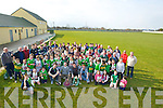 2-DAY NATION: The 2-Day Nation band who paid a courtesy call on the young kids and their parents up in Na Gaeil GAA club, on Sunday................... . ............................... ..........