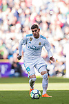 Theo Hernandez of Real Madrid during the La Liga 2017-18 match between Real Madrid and Deportivo Alaves at Santiago Bernabeu Stadium on February 24 2018 in Madrid, Spain. Photo by Diego Souto / Power Sport Images