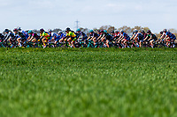 Picture by Alex Whitehead/SWpix.com - 03/05/2018 - Cycling - 2018 Asda Women's Tour de Yorkshire - Stage 1: Beverley to Doncaster - The peloton in action.