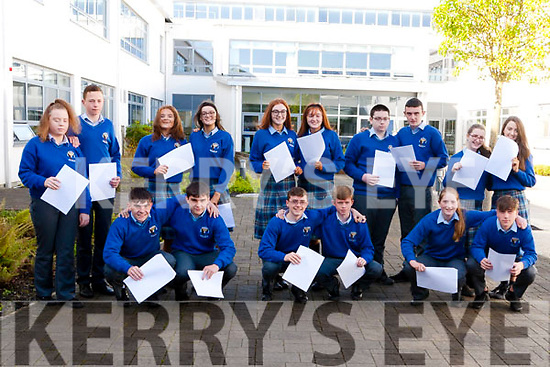 8 sets of twins who received they Junior Cert. results at Col&aacute;iste Ide ages Iosef Abbeyfeale.<br /> Front: L-R Mical &amp; Francis O&rsquo; Connell, Jack &amp; David Murphy, Holly &amp; Luke Scannell.<br /> Back: Chloe &amp; Christopher Lane, Michelle &amp; Noelle Curtin, Caoimhe &amp; Shauna Hickey, Gear&oacute;id &amp; Jamie Browne, Orla &amp; Maeve Quirke.