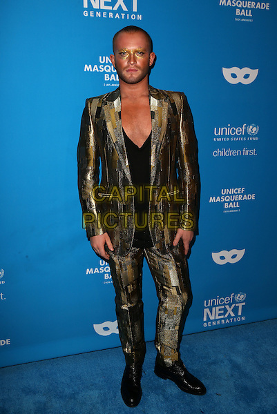 LOS ANGELES, CA - OCTOBER 27: August Getty at the Fourth Annual UNICEF Masquerade Ball Los Angeles at Clifton's Cafeteria in Los Angeles, California on October 27, 2016. <br /> CAP/MPI/FS<br /> &copy;FS/MPI/Capital Pictures