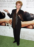 """28 December 2016 - Debbie Reynolds, the Oscar-nominated """"Singin' in the Rain,""""  singer-actress who was the mother of late actress Carrie Fisher, has died. She was 84. """"She wanted to be with Carrie,"""" her son Todd Fisher told Variety. She was taken to the hospital from Todd Fisher's Beverly Hills house Wednesday after a suspected stroke, the day after her daughter Carrie Fisher died. File Photo: 06 December 2010 - Hollywood, California - Debbie Reynolds. Premiere of HBO's Documentary """"Wishful Drinking"""" based on Carrie Fisher's tale of her life held at the Linwood Dunn Theater at the Pickford Center for Motion Study. Photo Credit: Tommaso Boddi/AdMedia"""