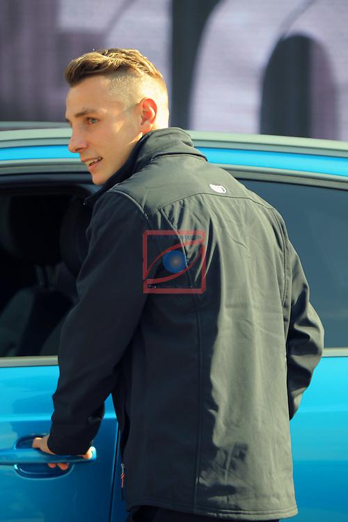 AUDI Premium Partner del FC Barcelona.<br /> Luca Digne.
