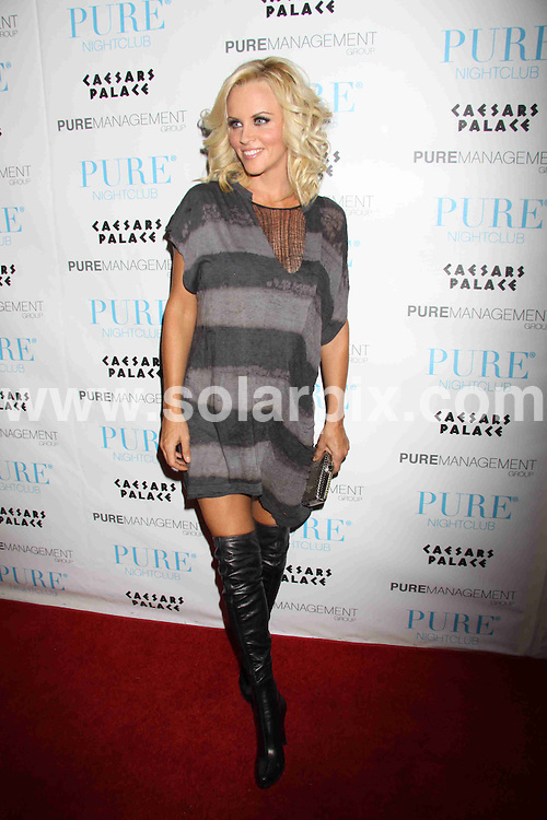 **ALL ROUND PICTURES FROM SOLARPIX.COM**.**SYNDICATION RIGHTS FOR UK, AUSTRALIA, DENMARK, PORTUGAL, S. AFRICA, SPAIN & DUBAI (U.A.E) ONLY**.Jenny McCarthy Hosts A Night On the Town at Pure Nightclub at Caesars Palace Hotel and Casino, Las Vegas, NV, USA. 8 August 2009..This pic: Jenny McCarthy..JOB REF: 9727 PHZ (PRN) DATE: 08_08_2009.**MUST CREDIT SOLARPIX.COM OR DOUBLE FEE WILL BE CHARGED**.**MUST NOTIFY SOLARPIX OF ONLINE USAGE**.**CALL US ON: +34 952 811 768 or LOW RATE FROM UK 0844 617 7637**