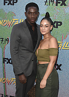 """7/16/18 - Los Angeles:  Red Carpet Event for FX's """"Snowfall"""" Season 2 Premiere- Arrivals"""