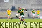 Stephen O'Brien Kerry in action against  Donegal in Division One of the National Football League at Austin Stack Park Tralee on Sunday.