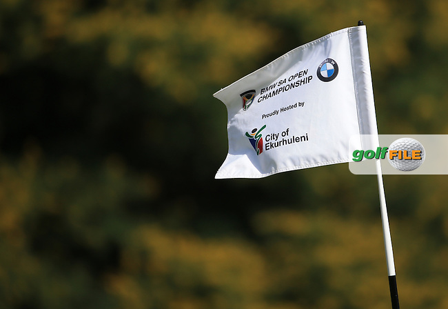 Quite a strong breeze during Round Two of the 2016 BMW SA Open hosted by City of Ekurhuleni, played at the Glendower Golf Club, Gauteng, Johannesburg, South Africa.  08/01/2016. Picture: Golffile | David Lloyd<br /> <br /> All photos usage must carry mandatory copyright credit (&copy; Golffile | David Lloyd)