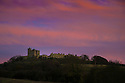 23/11/14<br /> <br /> A winter sky frames Bolsover Castle, Derbyshire, as the final light of the day gives way to forecast fog and freezing temperatures.<br /> <br /> ***ANY UK EDITORIAL PRINT USE WILL ATTRACT A MINIMUM FEE OF &pound;130. THIS IS STRICTLY A MINIMUM. USUAL SPACE-RATES WILL APPLY TO IMAGES THAT WOULD NORMALLY ATTRACT A HIGHER FEE .  PRICE FOR WEB USE WILL BE NEGOTIATED SEPARATELY***<br /> <br /> <br /> All Rights Reserved - F Stop Press.  www.fstoppress.com. Tel: +44 (0)1335 300098