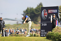 during Round 3 of the Betfred British Masters 2019 at Hillside Golf Club, Southport, Lancashire, England. 11/05/19<br /> <br /> Picture: Thos Caffrey / Golffile<br /> <br /> All photos usage must carry mandatory copyright credit (&copy; Golffile | Thos Caffrey)