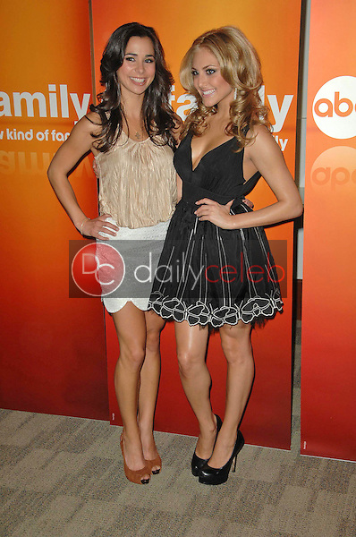 Josie Loren and Cassie Scerbo<br /> at the Disney ABC Television Group Summer Press Junket, ABC Studios, Burbank, CA. 05-15-10<br /> David Edwards/Dailyceleb.com 818-249-4998