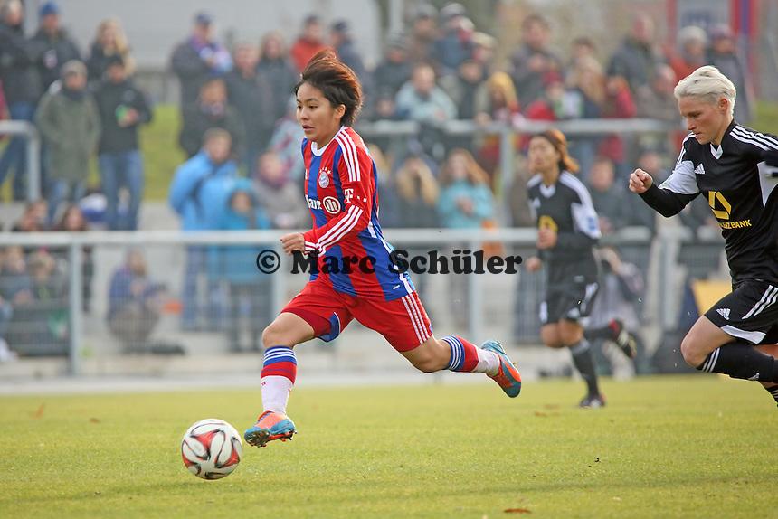 Mana Iwabuchi (Bayern) - 1. FFC Frankfurt vs. FC Bayern Muenchen, Stadion am Brentanobad