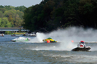 Amanda Hagerl, (#4) spins in the East turn.  (SST-45 class)