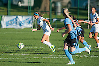 Kansas City, MO - Sunday September 11, 2016: Shea Groom during a regular season National Women's Soccer League (NWSL) match between FC Kansas City and the Chicago Red Stars at Swope Soccer Village.