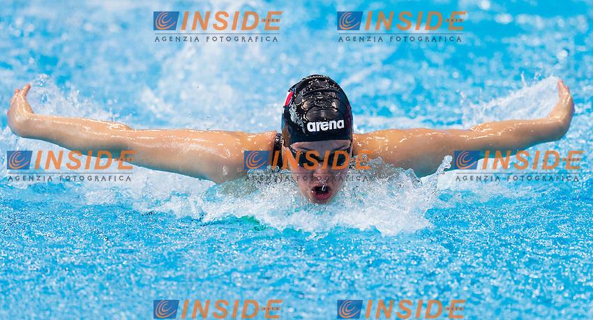 TONI Carlotta ITA<br /> London, Queen Elizabeth II Olympic Park Pool <br /> LEN 2016 European Aquatics Elite Championships <br /> Swimming<br /> Women's 400m medley preliminary <br /> Day 08 16-05-2016<br /> Photo Giorgio Perottino/Deepbluemedia/Insidefoto