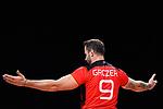 14.09.2019, Paleis 12, BrŸssel / Bruessel<br />Volleyball, Europameisterschaft, Deutschland (GER) vs. Belgien (BEL)<br /><br />Georg Grozer (#9 GER)<br /><br />  Foto © nordphoto / Kurth