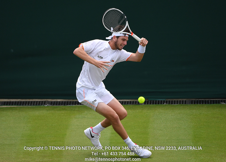 CAMERON NORRIE (GBR)<br /> <br /> TENNIS - THE CHAMPIONSHIPS - WIMBLEDON- ALL ENGLAND LAWN TENNIS AND CROQUET CLUB - ATP - WTA -ITF - WIMBLEDON-SW19, LONDON, GREAT  BRITAIN- 2017  <br /> <br /> <br /> &copy; TENNIS PHOTO NETWORK