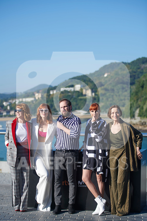 Carlos Vermut, Najwa Nimri , Eva Llorach, Carme Elías, Natalia de Molina attents  the photocall of 'Quien te cantara' during the 66th San Sebastian Donostia International Film Festival - Zinemaldia.September 26,2018.(ALTERPHOTOS/Paniagua)