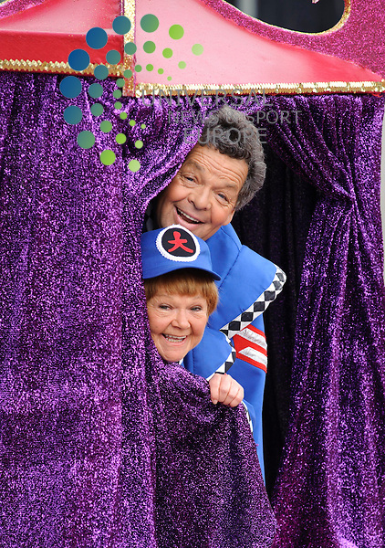 Children's TV stars The Krankies have pulled back the curtain on their private lives, confessing to indulging in &quot;swinging&quot; in the 1970s and 80s.<br /> Ian and Janette Tough, who soared to fame on TV show Crackerjack, described their &quot;active&quot; relationship in an interview on BBC Radio Scotland.<br /> The couple, both 64, said they had an &quot;anywhere, anytime&quot; attitude.They confessed to presenter Edi Stark to having the occasional &quot;ding dong&quot; with other people.<br /> File Picture: Euan Anderson/Universal News And Sport (Scotland) 06th September 2010.