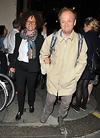 Karen Jones and Toby Jones at the &quot;Consent&quot; press night, The Harold Pinter Theatre, Panton Street, London, England, UK, on Tuesday 29 May 2018.<br /> CAP/CAN<br /> &copy;CAN/Capital Pictures