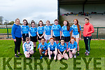 Ladies Football Blitz: The students from Colaiste Gleann-Li, Tralee who took part in a footballl blitz at Listowel GAA pitch on Friday last.