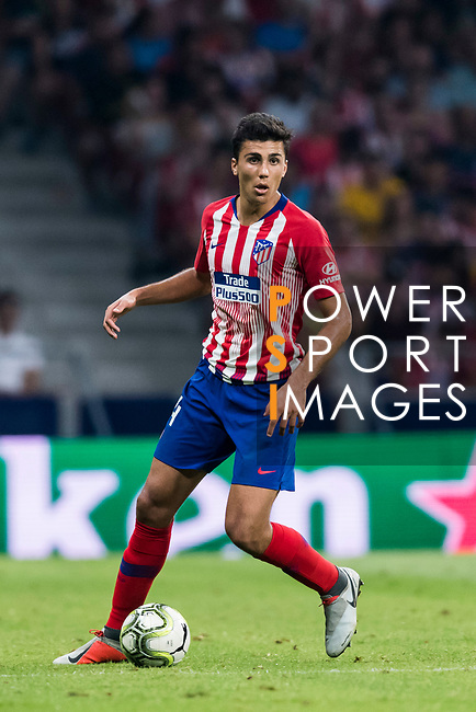 Rodrigo Hernandez, Rodri, of Atletico de Madrid in action during their International Champions Cup Europe 2018 match between Atletico de Madrid and FC Internazionale at Wanda Metropolitano on 11 August 2018, in Madrid, Spain. Photo by Diego Souto / Power Sport Images