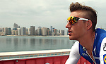 Marcel Kittel (GER) Quick-Step Floors at sign on before the start of Stage 2 the Nation Towers Stage of the 2017 Abu Dhabi Tour, running 153km around the city of Abu Dhabi, Abu Dhabi. 24th February 2017<br /> Picture: ANSA/Matteo Bazzi | Newsfile<br /> <br /> <br /> All photos usage must carry mandatory copyright credit (&copy; Newsfile | ANSA)