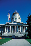 Utah, Salt Lake City, The Capitol..Photo # utsalt614.  Photo copyright Lee Foster.  .