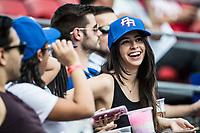 Aficion, durante el partido de beisbol de la Serie del Caribe con el encuentro entre los Alazanes de Gamma de Cuba contra los Criollos de Caguas de Puerto Rico en estadio de los Charros de Jalisco en Guadalajara, México, Martes 6 feb 2018. (Foto: AP/Luis Gutierrez)