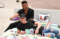 Nathan Henry and Scotty T<br /> Cast members of Geordie Shore take Shag Pad on Tour to launch series 15, London. <br /> <br /> <br /> &copy;Ash Knotek  D3293  10/08/2017