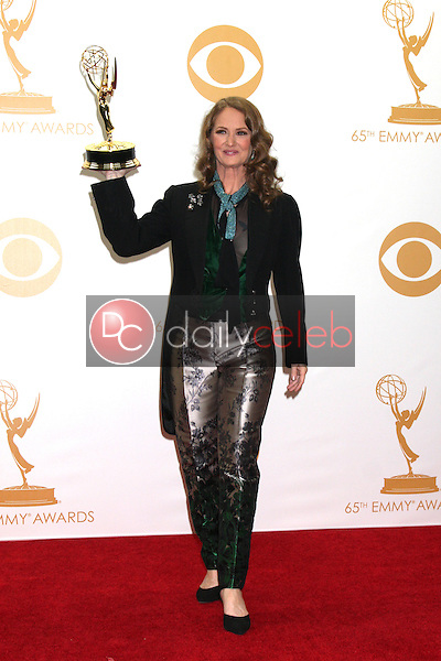 Melissa Leo<br /> at the 65th Annual Primetime Emmy Awards Press Room, Nokia Theater, Los Angeles, CA 09-22-13<br /> David Edwards/DailyCeleb.Com 818-249-4998
