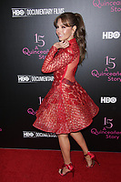 NEW YORK, NY - DECEMBER 4: Thalia at  HBO Premiere Event Presentation Of 15: A QUINCEAÑERA STORY at The Garage on December 4, 2017 in New York City. Credit: Diego Corredor/MediaPunch /NortePhoto.com NORTEPHOTOMEXICO