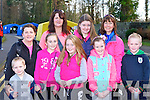 Mary, Kevin, Emma, Cora, Sinead and Maria Coffey all Beaufort, Annette and Grace Garland Killorglin and simon Coffey Beaufort having fun at the OT walk in Killarney on Saturday