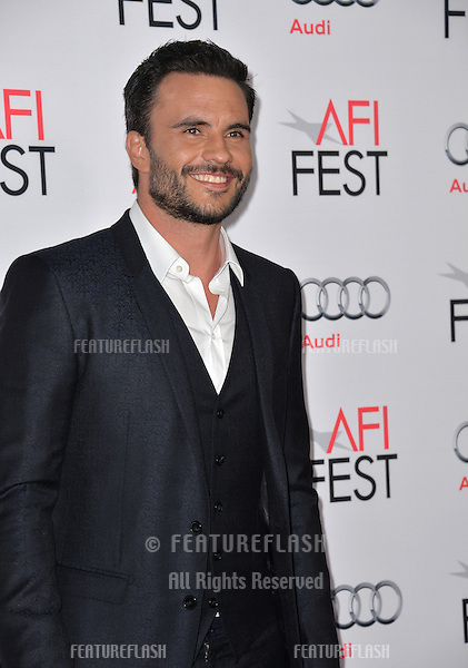 Actor Juan Pablo Raba at the premiere of his movie &quot;The 33&quot;, part of the AFI FEST 2015, at the TCL Chinese Theatre, Hollywood. <br /> November 9, 2015  Los Angeles, CA<br /> Picture: Paul Smith / Featureflash