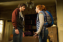 Bath, UK. 11.04.2013. 4,000 MILES by Amy Herzog, opens at the Ustinov Studio, Theatre Royal Bath, as part of the 2013 American Season. the play is directed by James Dacre, recently appointed Artistic Director of Royal and Derngate, Northampton. Lighting design by Richard Howell and set and costume design by Simon Kenny. The production runs from 11th April to 11th May. Picture shows: Jenny Hulse (Bec) and Daniel Boyd (Leo).  Photograph © Jane Hobson.