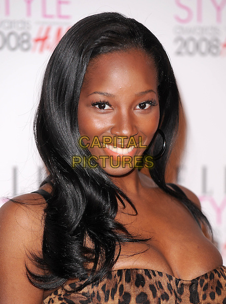 JAMELIA.attending the Elle Style Awards 2008, The Westway, London, England,.12th February 2008..portrait headshot.CAP/BEL.?Tom Belcher/Capital Pictures