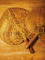 Detail of amenity of Alila Purnama, the Bugis crafted traditional wooden Phinisi boat.