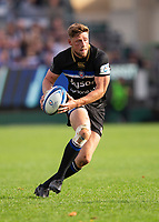 Bath Rugby's Rhys Priestland<br /> <br /> Photographer Bob Bradford/CameraSport<br /> <br /> European Rugby Champions Cup - Bath Rugby v Toulouse - Saturday 13th October 2018 - The Recreation Ground - Bath<br /> <br /> World Copyright © 2018 CameraSport. All rights reserved. 43 Linden Ave. Countesthorpe. Leicester. England. LE8 5PG - Tel: +44 (0) 116 277 4147 - admin@camerasport.com - www.camerasport.com