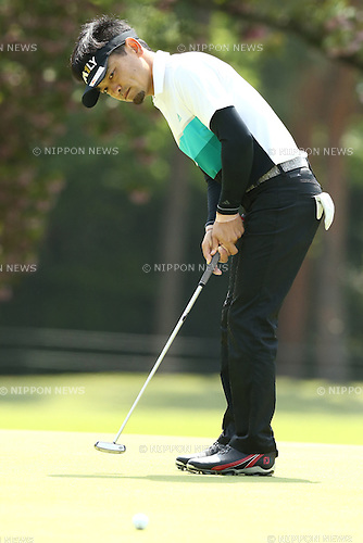Ryutaro Nagano,<br /> APRIL 24, 2016 - Golf : <br /> Panasonic OPEN Golf Championship 2016<br /> Final Round <br /> at Chiba Country Club, Chiba, Japan. <br /> (Photo by Shingo Ito/AFLO SPORT)