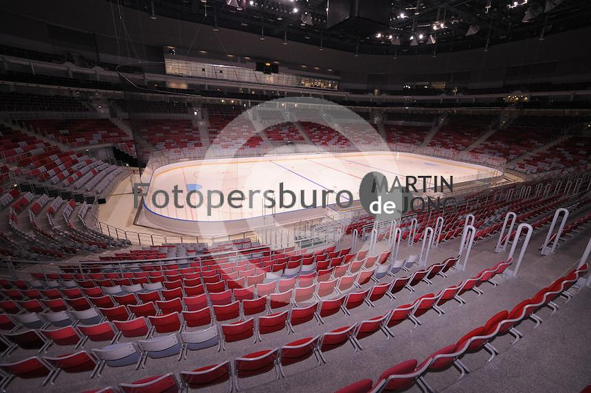 SPEEDSKATING: SOCHI: Olympic Park, 22-03-2013, Venue Tour Olympic Games 2014, © Martin de Jong