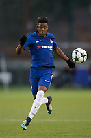 Daishawn Redan of Chelsea during the UEFA Youth League group match between Chelsea and Atletico Madrid Juvenil A at the Chelsea Training Ground, Cobham, England on 5 December 2017. Photo by Andy Rowland.