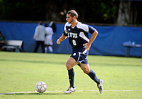 Florida International University men's soccer player Nicholas Chase (8) plays against Stetson University on September 10, 2011 at Miami, Florida.  FIU won the game in overtime 3-2. .