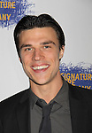 """All My Children's Finn Wittrock """"Damon"""" stars in this play and is at Opening Night of the Off-Broadway's play """"The Illusion"""" on June 5, 2011 at the after party at West Bank Cafe as Signature Theatre Company is at the Peter Norton Space, New York City, New York.  (Photo by Sue Coflin/Max Photos)"""
