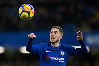 Chelsea's Eden Hazard in action <br /> <br /> Photographer Craig Mercer/CameraSport<br /> <br /> The Premier League - Chelsea v West Bromwich Albion - Monday 12th February 2018 - Stamford Bridge - London<br /> <br /> World Copyright &copy; 2018 CameraSport. All rights reserved. 43 Linden Ave. Countesthorpe. Leicester. England. LE8 5PG - Tel: +44 (0) 116 277 4147 - admin@camerasport.com - www.camerasport.com
