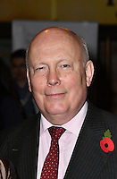 LONDON, ENGLAND - OCT 31: Lord Julian Fellowes at the Sixth annual awards celebrating the efforts of local people fighting to saving heritage areas and historic sites under threat at Palace Theatre on October 31st, 2016 in London, England.<br /> CAP/JOR<br /> &copy;JOR/Capital Pictures /MediaPunch ***NORTH AND SOUTH AMERICA ONLY***