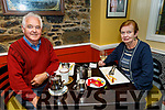 Pa Lynch and Margaret O'Connor Lynch from Tralee enjoying the evening in the Brogue Inn on Sunday